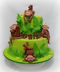 75 best cakes monkey images on pinterest monkey cakes