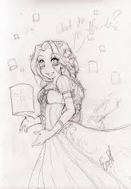 disney tangled rapunzel evayabai deviantart