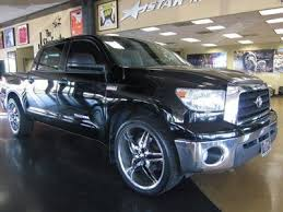 Used 24 Inch Rims Sell Used 2008 Toyota Tundra Crew Max Black 24 Inch Rims In