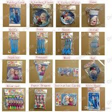 party supplies wholesale children birthday party favors frozen decoration supplies popular
