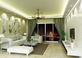 green color living room with soft idea in walls and bold idea in