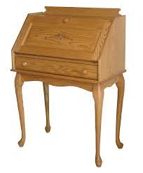 queen anne fold down secretary desk amish direct furniture