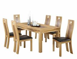 Dining Room Table Pad Dining Room Oak Chairs Solid Oak Extending Dining Table And 6
