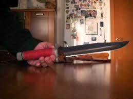 coltello al mar sf 10 green beret military rambo knife youtube