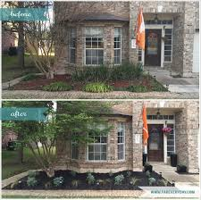 native plants to texas before and after central texas front yard garden makeover used