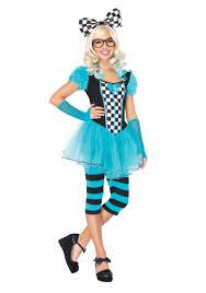 Halloween Costumes Tween Girls Alice Wonderland Costume Alice Costumes Child