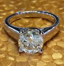 layaway engagement rings 2 01 carat solitaire engagement ring white gold layaway
