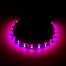 rgb led strip lighting cablemod widebeam hybrid led strip u2013 rgb uv cablemod global store