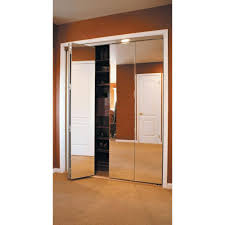 Closets Without Doors by Wonderful Mirrored Bifold Closet Doors 48 Mirrored Bi Fold Doors