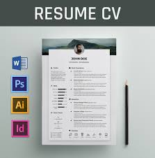 20 editable resume template microsoft word
