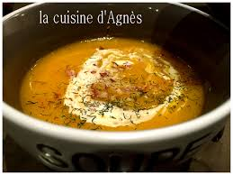 cuisiner le fenouil velouté de potimarron au fenouil la cuisine d agnèsla cuisine d