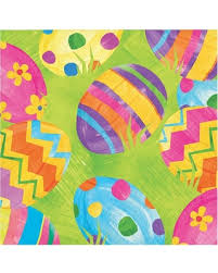 easter napkins don t miss this bargain creative converting easter egg toss