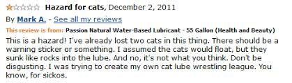 amazon black friday lube 55 gallon drum of lube is u201chazard for cats u201d reviewer says