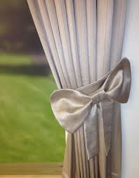 Silver Curtain Tie Backs Make Your Room Elegant By Simple Curtain Tie Backs