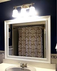 Trim Around Bathroom Mirror Molding For Mirrors Beechridgecs