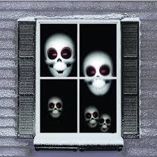 mr christmas digital decoration window projector kit for halloween