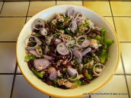 cuisiner haricots rouges salade de haricots rouges au thon recette iterroir