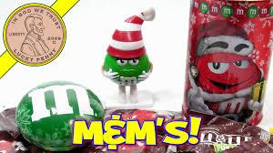m u0026m christmas assortment tins ornaments u0026 dispensers youtube
