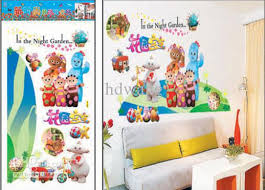 environmetal wall stickers in the night garden stickers for