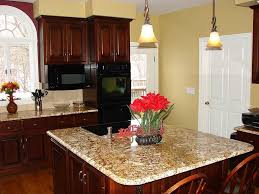 best wall color for cherry cabinets kitchen pinterest best