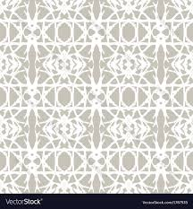 Art Deco Style Lace Pattern With White Shapes In Art Deco Style Vector Image