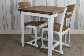 industrial vintage style tables white cafe
