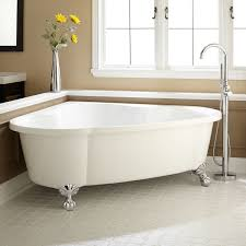 Clawfoot Bathtub Shower Bathtubs Impressive Corner Soaking Tub Dimensions 87 Corner