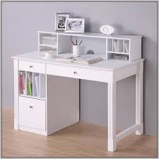 fantastic white desk with hutch and drawers amazing white corner