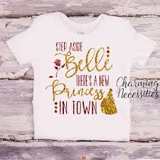 newborn baby necessities step aside there s a new princess in town glitter top