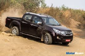 isuzu dmax lifted 2018 isuzu d max facelift unveiled india bound motorbeam