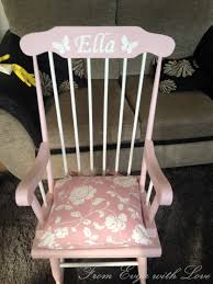 Rocking Chair Used Rocking Chair For A Very Special From Evija With Love