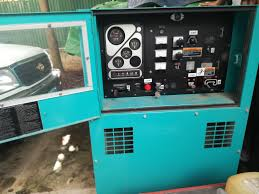 announcement disposal of 01 electric generator through