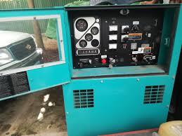 announcement disposal of 01 electric generator through
