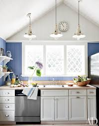 Lighting For Cathedral Ceiling In The Kitchen by Vaulted Ceiling Renovation Inspiration Photos Architectural Digest