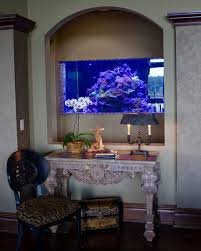 Office Desk Aquarium Charlotte Granite Top Desk Home Office Traditional With Built In