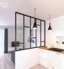 fa軋de de cuisine sur mesure facade meuble cuisine sur mesure nouveau cloison vitrée pour créer