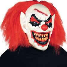 carver clown mask party city halloween costume ideas
