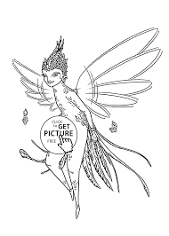 fairy rise guardians coloring pages kids