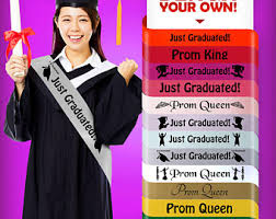 sashes for graduation graduation sash etsy