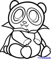 baby panda coloring pages eson me