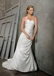 custom made wedding dress cheap of custom made strapless amazing ivory elastic satin ruched