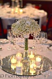 ideas for centerpieces for wedding reception tables white rose wedding centerpiece centerpieces martinis and glass