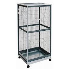 reti per gabbie gabbia voliera zincata per uccelli damo 510 tetto piatto a rete
