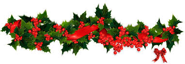 wreath clipart christmas holly garland pencil and in color