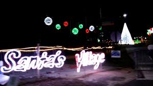north myrtle beach christmas lights north myrtle beach christmas light show santa s village 2016 youtube
