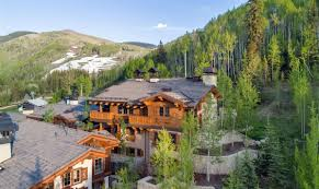 Vail Mountain Map Chalets At The Lodge At Vail Three Colorado Luxury Homes