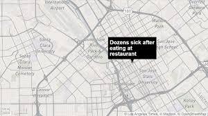Santa Clara University Map Dozens Of Customers Get Sick After Eating At San Jose Seafood