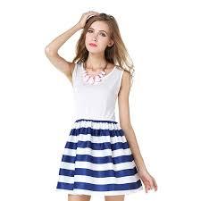 online get cheap cotton maxi dress navy aliexpress com alibaba