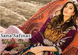 sana safinaz winter shawl 2015 2016 collection with prices sana