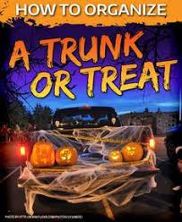 trunk or treat halloween event flyer by jjinspirationstudio